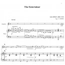 JOPLIN - THE ENTERTAINER - HAUTBOIS ET PIANO