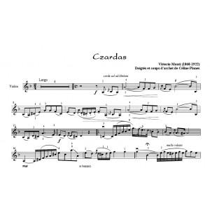 partition flute czardas